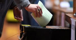 Blasphemy referendum: Irish Times/Ipsos MRBI exit poll predicts a majority  for change across all ages and regions and among men and women. Photograph: Clodagh Kilcoyne