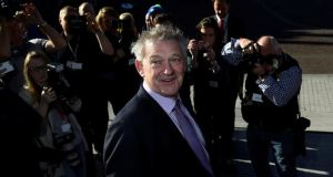 "In the RTÉ/Red C poll Peter Casey easily outscored the other presidential election candidates on ""the ability to stand up for ordinary people"". Photograph: Clodagh Kilcoyne/Reuters"