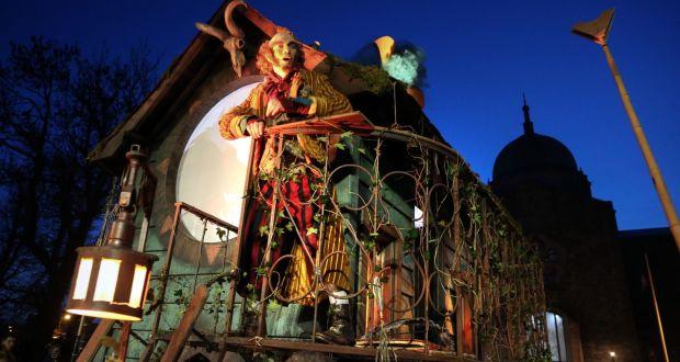 Macnas Halloween Parade 2020 Dublin Haunting scenes in Galway as Macnas celebrates Samhain