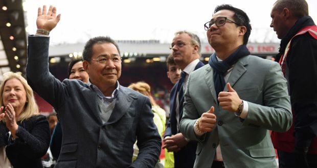 Leicester City s owner Vichai Srivaddhanaprabha and his son Aiyawatt  Srivaddhanaprabha  the Thai billionaire is believed 23d5411e6