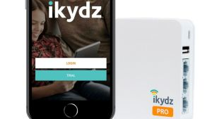 iKydz Pro provides a  simple way to seize control of your home wifi