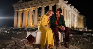 Florence Pugh and Alexander Skarsgard in The Little Drummer Girl. Photograph: Jonathan Olley/BBC/The Little Drummer Girl Distribution Ltd