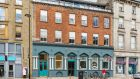 15 Bank House, Cornmarket, Thomas Street, in Dublin 8, is a top-floor apartment with a large terrace