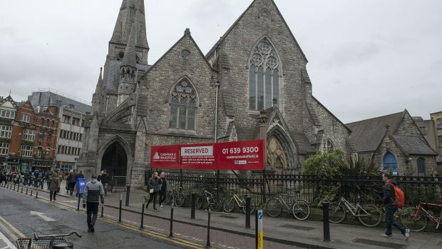 New food hall will be located in St Andrew's Church on Suffolk St, Dublin. Photograph: Dave Meehan/The Irish Times