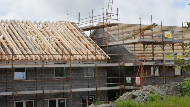 "The Department of Housing has compiled a ""watch list"" of projects totalling more than 2,000 homes which it said it is ""absolutely essential"" councils complete by year-end. Photograph: Alan Betson/The Irish Times"
