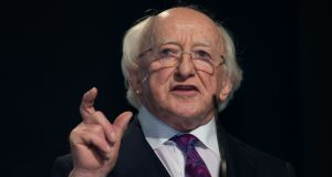 President Michael D Higgins: Will be uniquely qualified to commemorate the centenary of the Civil War in 2022. Photograph: Tom Honan for The Irish Times