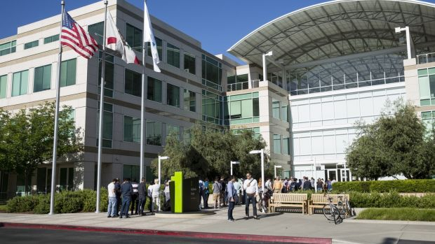 Apple's offices in Cupertino, California.