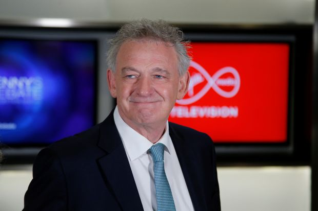 Peter Casey arriving at Virgin Media One studios before the first TV debate of the presidential campaign on October 17th, 2018. Photograph: Nick Bradshaw/The Irish Times