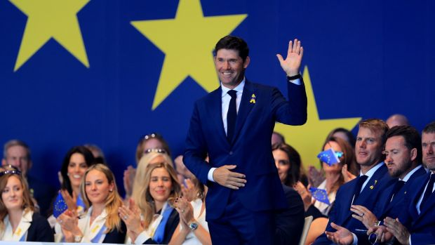 Harrington was an assistant captain for Europe during the recent Ryder Cup in Paris. Photo: David Cannon/Getty Images