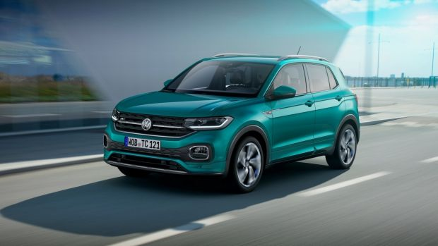 The T-Cross for Europe will be built at VW's Navarra plant in Spain, alongside the Polo with which it shares a chassis