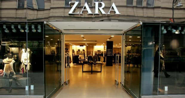 Irish Profits Treble For Zara Owner Inditex After Online Sales Boost