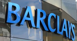 Barclays Bank has applied to the UK high court for an order allowing it to transfer its €250 billion European Economic Area (EEA) business to the Republic and expects this to be heard on January 22nd. Photograph: Joe Giddens/PA Wire