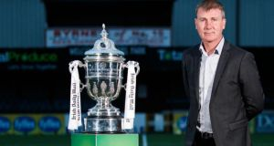 "Dundalk manager Stephen Kenny: ""people love two teams really going at it with a view to trying to win the cup and bring it home. That has its own intrigue.""Photograph: Bryan Keane/Inpho"