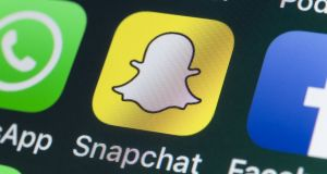 Snapchat has come under pressure in recent months from Facebook-owned Instagram. Photograph: iStock