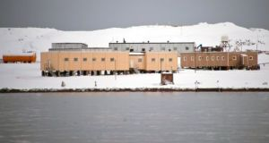 The Russian Bellingshausen station in Antarctica, the site of the alleged stabbing. Photograph: Vanderlei Almeida/AFP/Getty Images
