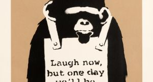 Banksy, Laugh