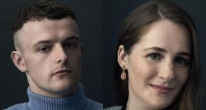 Rising stars: actor Chris Walley and film producer Fodhla Cronin O'Reilly. Photographs: BAFTA/Phil Fisk