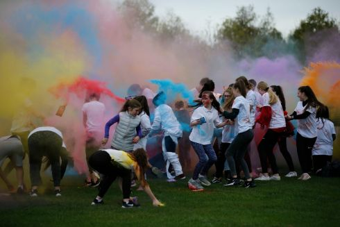 Dublin City Council in association with Ballyfermot Youth Services hosted both a Pumpkin Party in Markievicz Park and a colour run in California Park.  GV's from the events.