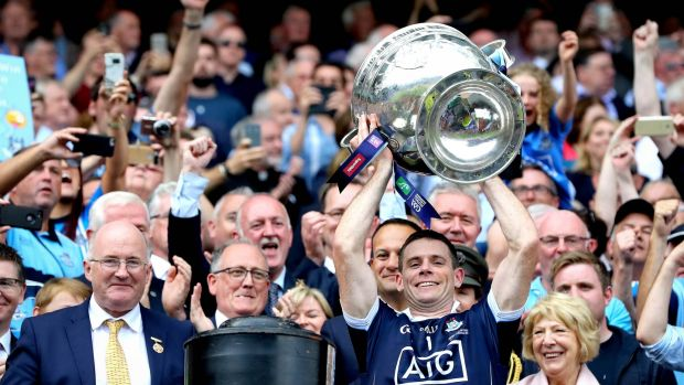 After a fourth All-Ireland title in a row with Dublin, Stephen Cluxton missed out on the award. Photo: Ryan Byrne/Inpho