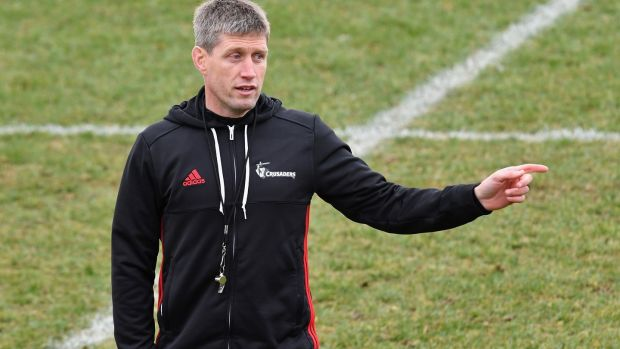 Crusaders assistant coach and former Ireland outhalf Ronan O'Gara believes Ireland are capable of causing another upset against the All Blacks in the November series. Photograph: Kai Schwoerer/Getty Images