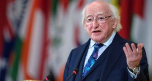 President Michael D Higgins 'is committed to establishing an audit committee', a spokesman said. Photograph: Martial Trezzini/EPA