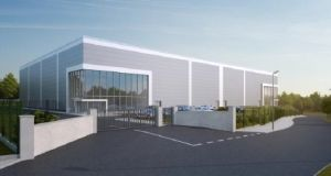 An artist's rendering of the new ILC Dover facility  in Blarney, Co Cork