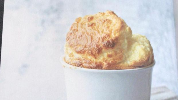 Mary Kennedy's cheese soufflé, as made by her mum