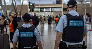 Australian Federal Police   arrested the 25-year-old Irishman upon arrival at Sydney International Airport. Photograph: Getty