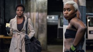 Viola Davis and Cynthia Erivo in Widows. Photograph: Merrick Morton//Twentieth Century Fox Film Corporation