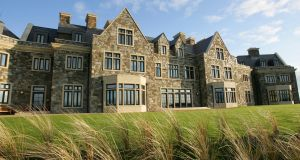 The Lodge at Doonbeg Golf Club, Co Clare. A decision on the latest plan for its development is due in January.