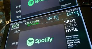 Spotify shares dropped in early trading following the third-quarter report