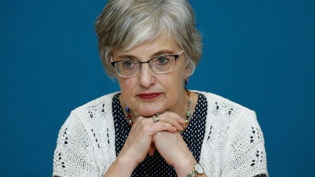 Minister for Children Katherine Zappone: Six months ahead of the visit to Ireland this year by Pope Francis, Ms Zappone wrote to Tánaiste Simon Coveney to express her concerns. Photograph: Nick Bradshaw