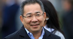 Leicester City chairman Vichai Srivaddhanaprabha (60), who died in a helicopter accident.  Photograph:  Mike Egerton/PA Wire