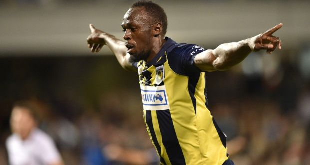 1b9e2b44fdc Former Olympic champion sprinter Usain Bolt has ended his trial with  Australian club Central Coast Mariners