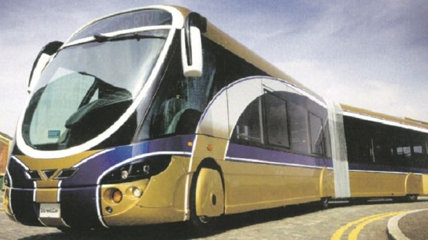 Bus Rapid Transit: looks like a tram, delivers service like a tram, and gives passenger comfort like a tram