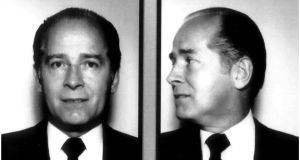 "Arrest mugshots of James ""Whitey"" Bulger, the late mobster who terrorised south Boston in the 1970s and 1980s. ""Black Mass"" and ""The Departed"" drew glamourous versions of his character. Donald Clarke looks at why cinema is obsessed with 'Whitey' Bulger and other criminal maniacs."