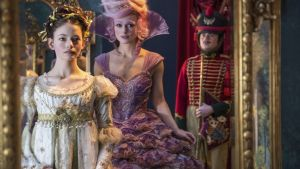 Mackenzie Foy and Keira Knightly in The Nutcracker and the Four Realms. Photograph: Disney