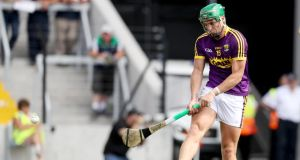 Wexford intercounty star   Conor McDonald impressed for Naomh Éanna against Camross. Photograph: Tommy Dickson/Inpho