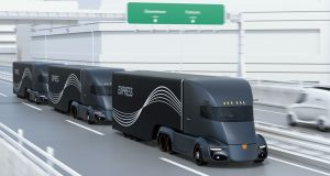 Driverless lorry testing is well under way in many countries. Photograph: iStock