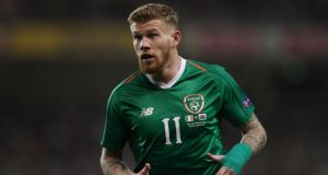 James McClean has responded to reports that he is being investigated by the FA after he again refused to wear a poppy on his shirt. Photo: James Williamson - AMA/Getty Images