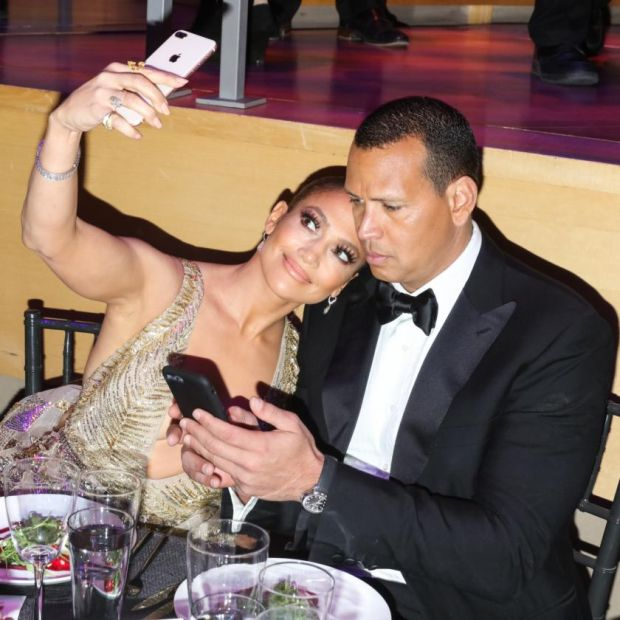 Jennifer Lopez and Alex Rodriguez photographed at the Lincoln Center in New  York by Rebecca Smeyne