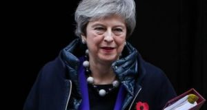 Theresa May:  it is crucially important that she  is allowed her Dunkirk moment. Photograph: Getty Images