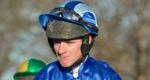 Jockey Chris Timmons has received a four-year ban for a positive cocaine test at Ballinrobe in May. Photograph:   Morgan Treacy/Inpho