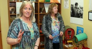 Galway Traveller Movement members Anne Ward and Annie McDonagh. Photograph: Joe O'Shaughnessy.