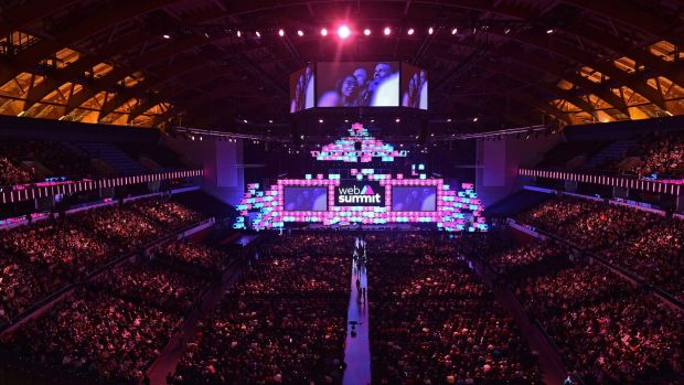 Close to 70,000 attendees from 159 countries are In Lisbon for year's Web Summit, including around 1,000 Irish people