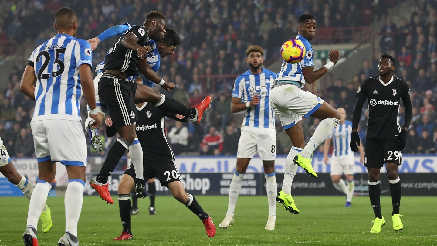 Huddersfield grab first league win in basement battle with Fulham
