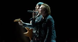 U2's Experience + Innocence Tour at the 3Arena. Photograph: Tom Honan