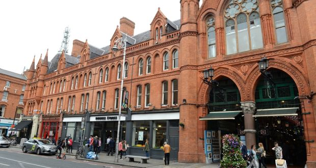 43dabfdc01574 Dunnes Stores on South Great George's Street: the adjacent arcade is  Dublin's only purpose-