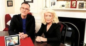 Brendan Courtney and his mother Nuala in We Need to Talk about Mam. Photograph: RTE