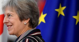 UK Prime Minister Theresa May said any agreement will be dependent on an 'acceptable' framework. Photograph: Toby Melville/Reuters